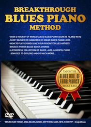Breakthrough Blues Piano Method Cover