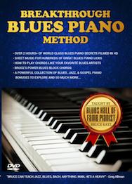 Breakthrough Blues Piano Method Cover